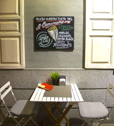 taverne moderne terrasse extérieure